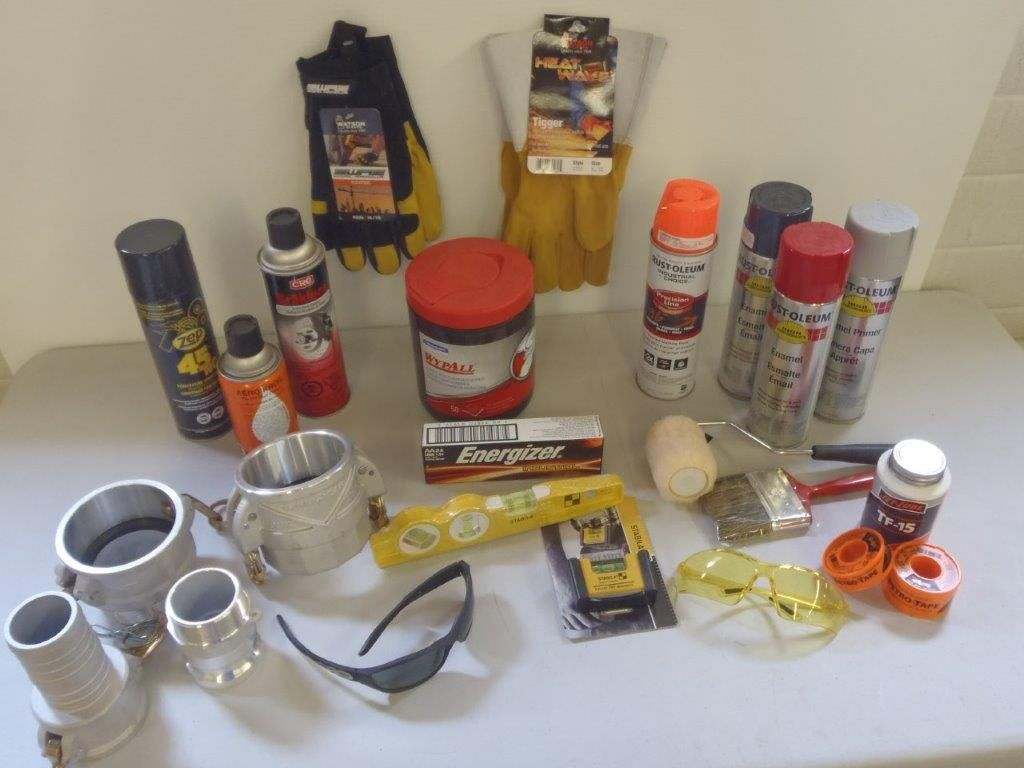 Oil products at outkast oilfield shop